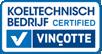 Koeltechnisch bedrijf certified