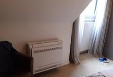 Daikin vloermodel type Classic. Koelen/verwarmen van een slaapkamer
