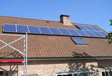 PV-installatie voor privéwoning. Atersa panelen + SMA omvormer.